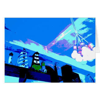 Blue picture messages card Part 2