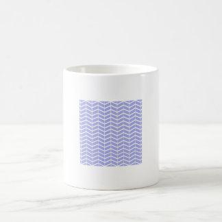 Blue pie Chevron Stripes Mug
