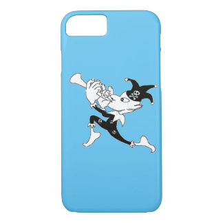 Blue Pied Piper iPhone 7 Case