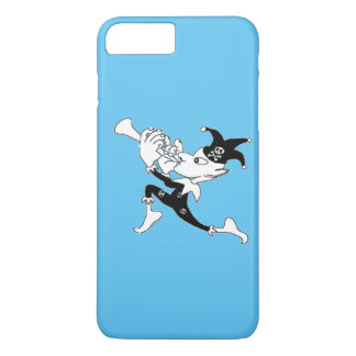 Blue Pied Piper iPhone 7 Plus Case