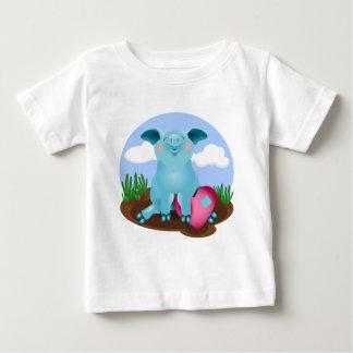 Blue Pig Infant T-Shirt