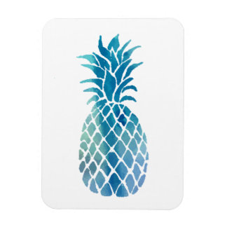 blue pineapple magnet