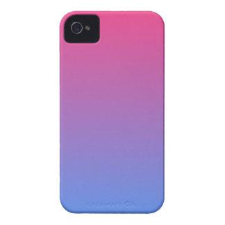 blue pink gradient Case-Mate iPhone 4 case