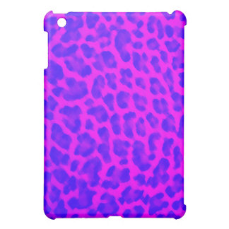 Blue & Pink Leopard Print iPad Mini Cases