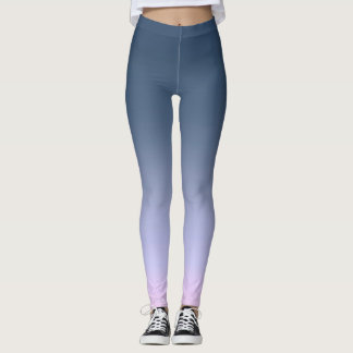 Blue-pink Ombre . Leggings