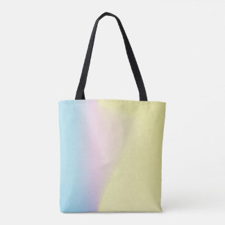 Blue, Pink, Yellow Gradient Tote