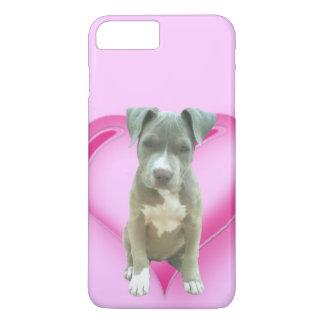 Blue pitbull puppy iphone 7/8 case