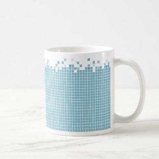 Blue Pixels mug