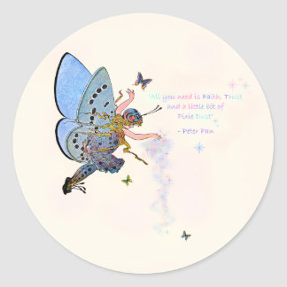 Blue Pixie Dust Stickers
