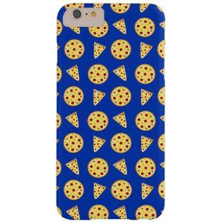 Blue pizza pattern barely there iPhone 6 plus case