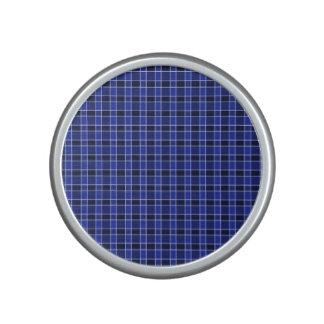 Blue Plaid Bumpster Speaker
