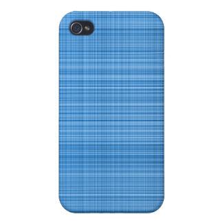 Blue Plaid Case iPhone 4 Case