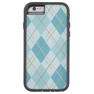 Blue Plaid Case-Mate Tough Xtreme iPhone 6 Case