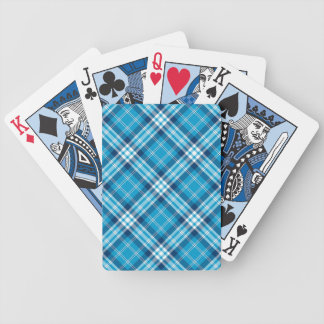 Blue Plaid Gaming Cards Deck Of Cards
