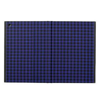 Blue Plaid IPad Case