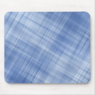 Blue Plaid Mouse Mat