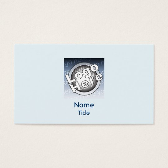 Blue Plain - Business Business Card