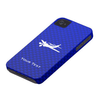 Blue Plane iPhone 4 Case-Mate Case