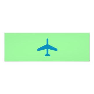 Blue Plane Photo Art