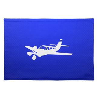 Blue Plane Placemat