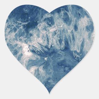 Blue Planet - Blue Moon Heart Sticker