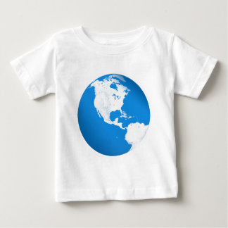 Blue Planet Earth Baby T-Shirt
