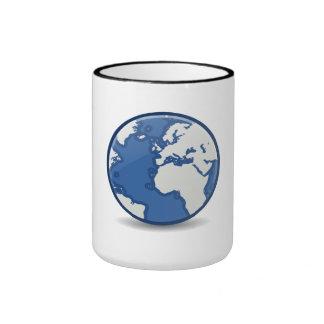 Blue Planet Coffee Mugs