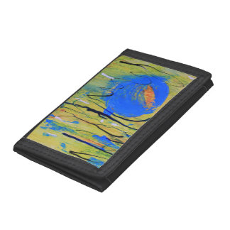 Blue Planet Trifold Wallets