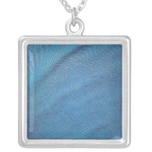 Blue Plastic Mesh Jewelry