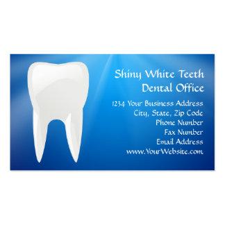 Blue Plunge Dental or Dentist Office Business Cards