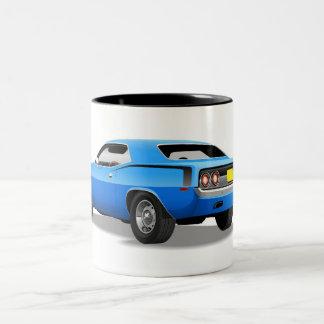 Blue Plymouth 'Cuda Mug