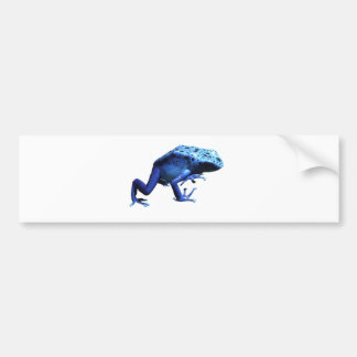 Blue Poison Dart Frog Bumper Sticker