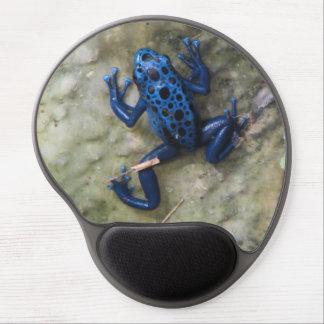 Blue Poison Dart Frog Gel Mouse Mat