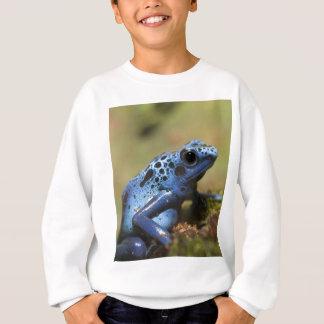 Blue Poison Dart Frog Sweatshirt