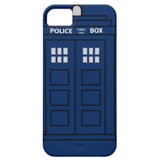 Blue Police Call Box Case For The iPhone 5