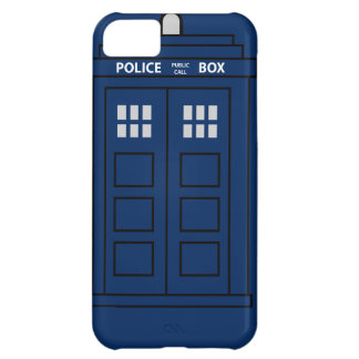 Blue Police Call Box iPhone 5C Case