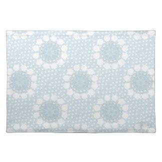 Blue Polka Dot/ Circles Placemat