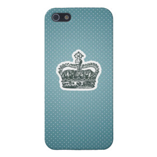 Blue Polka-dot Princess iphone case iPhone 5/5S Covers