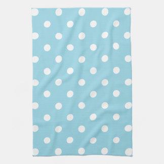 Blue Polka Dot Tea Towel