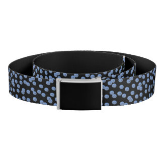 Blue Polka Dots Belt