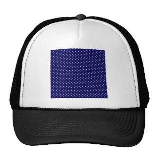 Blue Polka Dots Cap