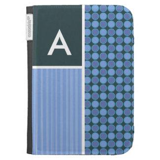 Blue Polka Dots Kindle Cover