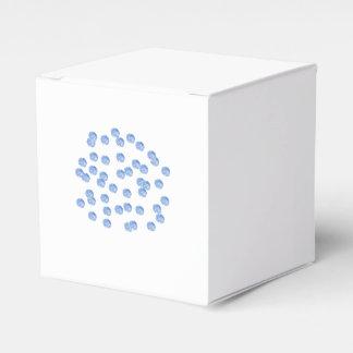 Blue Polka Dots Classic Favor Box