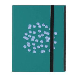 Blue Polka Dots iPad 2/3/4 Case with No Kickstand Covers For iPad