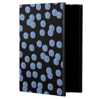 Blue Polka Dots iPad Air 2 Case with No Kickstand