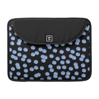 Blue Polka Dots Macbook Pro Sleeve 13''