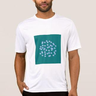 Blue Polka Dots Men's Performance T-Shirt