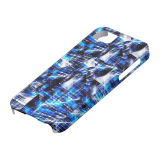 Blue polygonal case