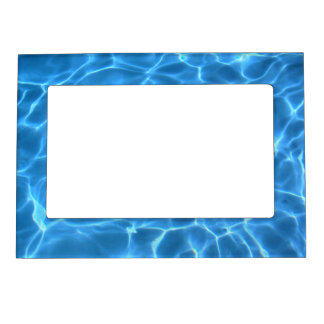 Blue Pool Pattern Magnetic Frame