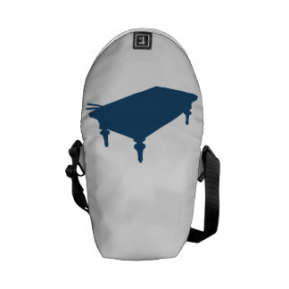 Blue Pool Table Courier Bags